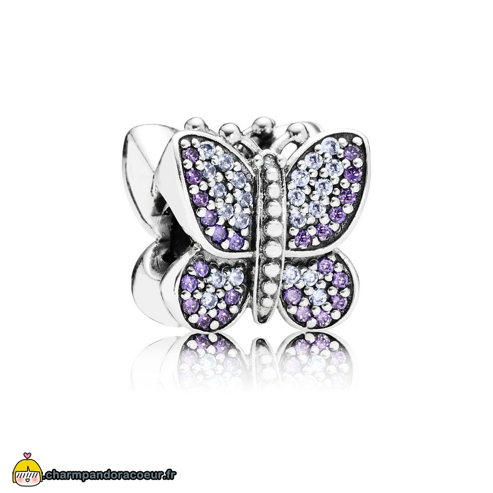 Nouvelle Collection Pandora Charm Papillon Etincelant