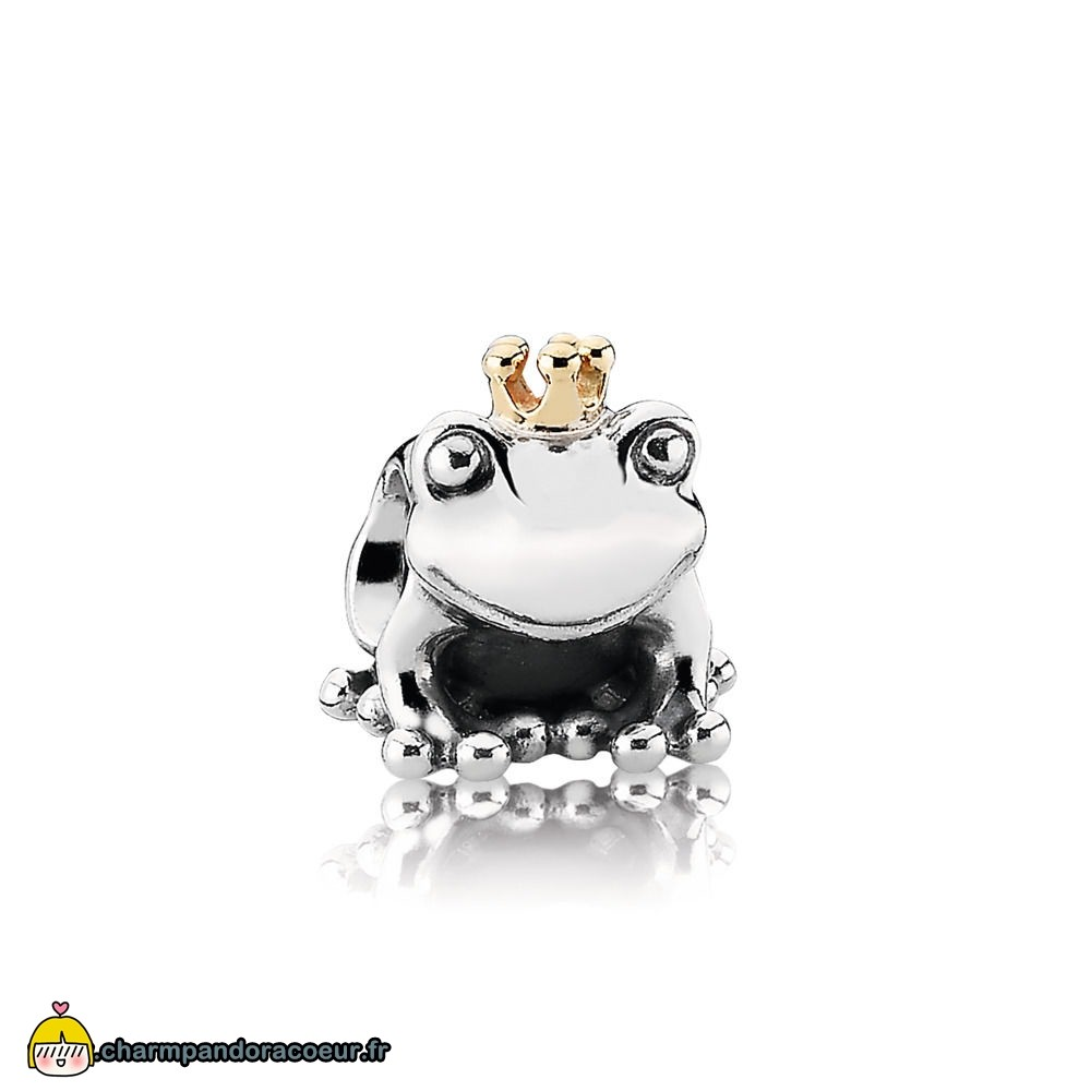 Nouvelle Collection Pandora Charm Prince Grenouille
