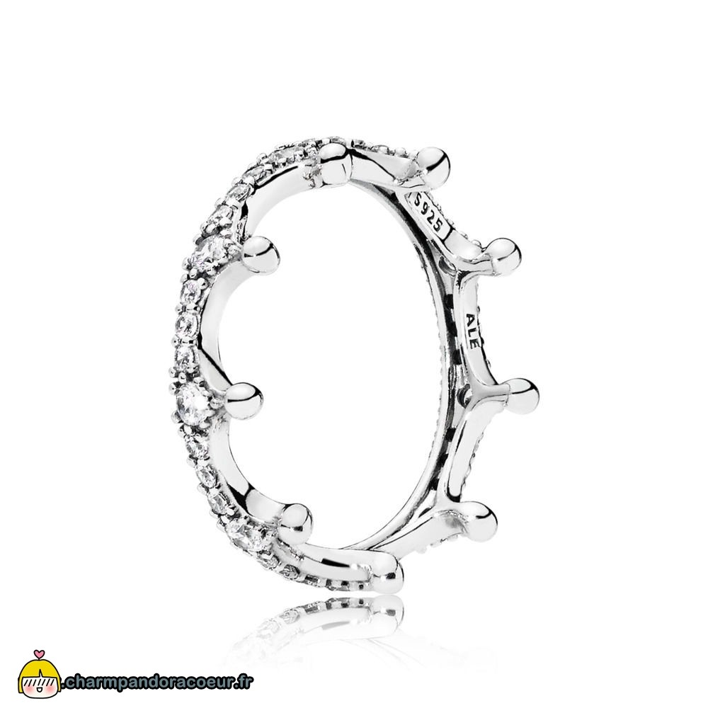 Nouvelle Collection Pandora Enchanté Crown Bague