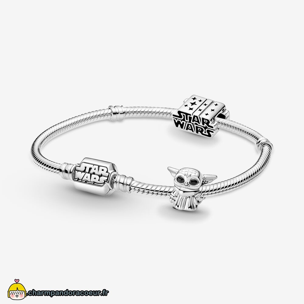 Nouvelle Collection Pandora Disney Star Wars™ The Metalorian Bracelets Et Ensemble De Charme