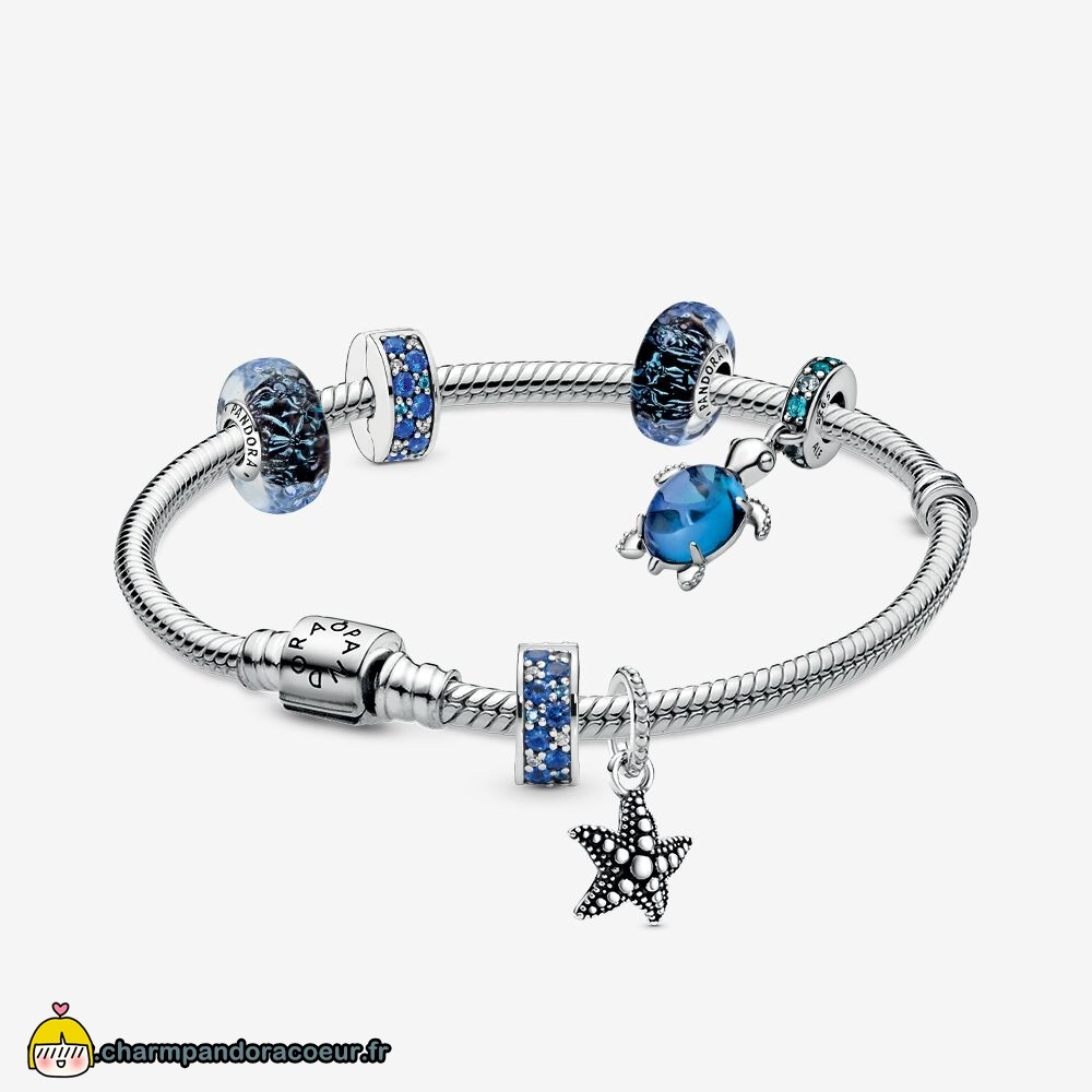 Nouvelle Collection Pandora Vagues De Style Bracelets Ensemble