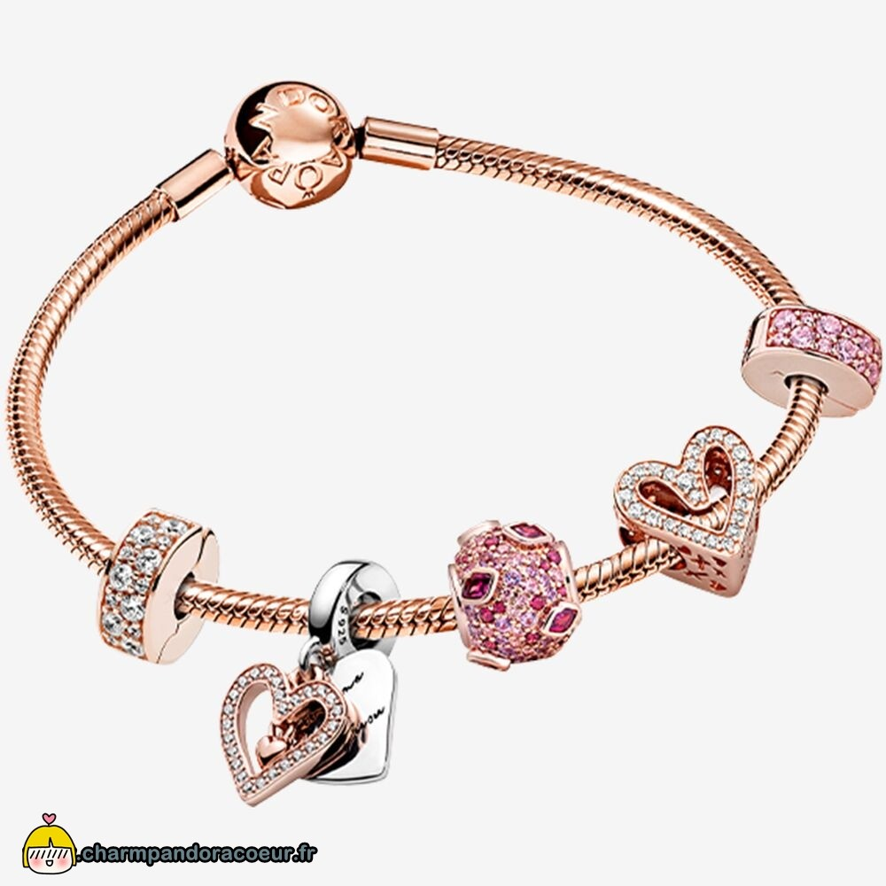 Nouvelle Collection Pandora Étoile Brillante Bracelets Ensemble