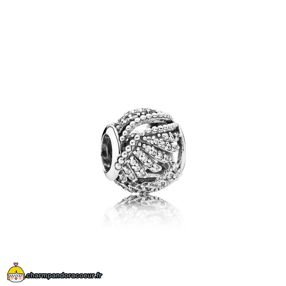 Nouvelle Collection Pandora Pandora Passions Charms Chic Glamour Majestic Plumes Clear Cz