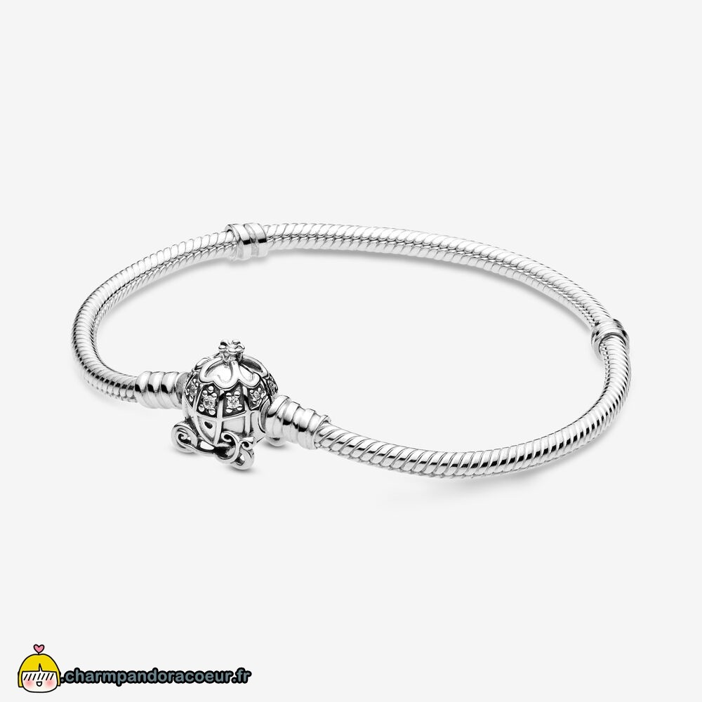 Nouvelle Collection Pandora Fermoir De Coach Citrouille Disney Cendrillon Pandora Moments Bracelets