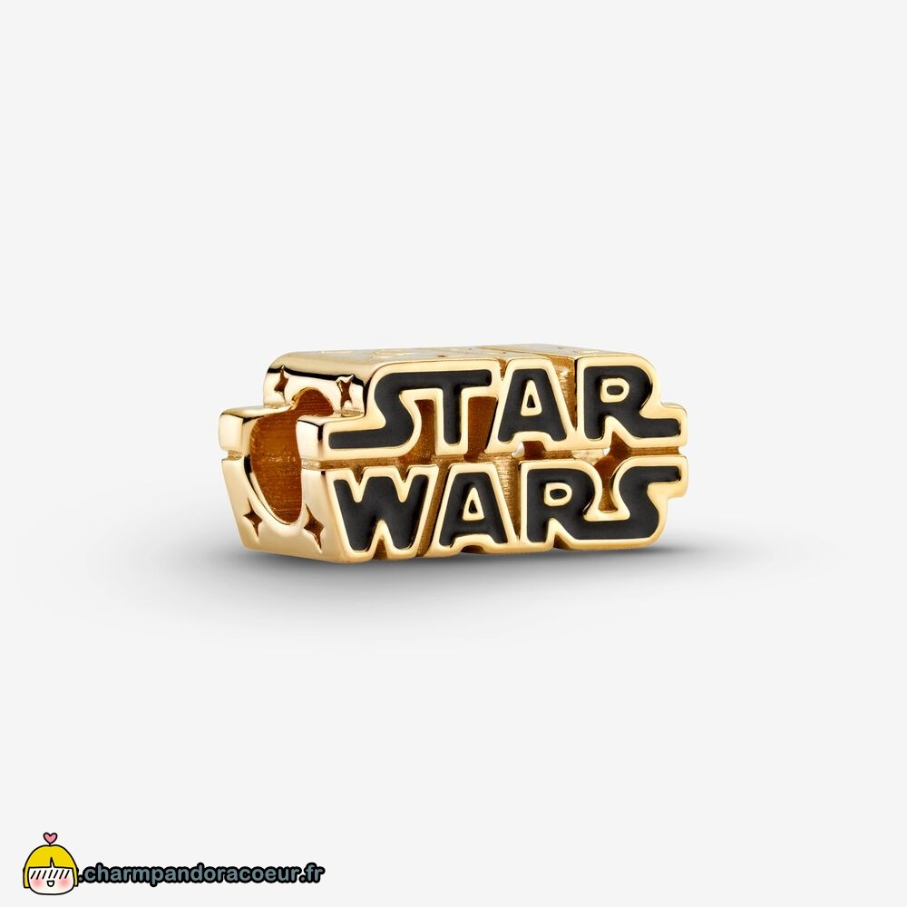 Nouvelle Collection Pandora Breloque Avec Logo 3D Brillant Star Wars Édition Collector