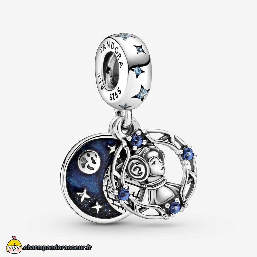 Nouvelle Collection Pandora Breloque Double Pendentif Princesse Leia Star Wars