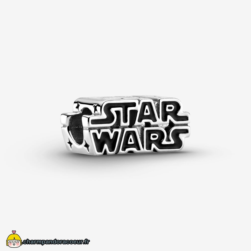Nouvelle Collection Pandora Breloque Logo 3D Star Wars En Argent