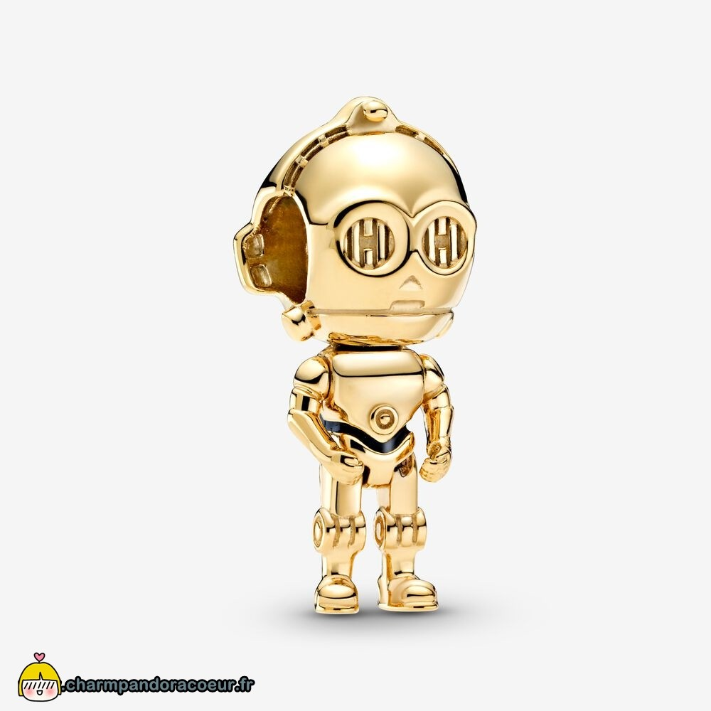Nouvelle Collection Pandora Breloque Star Wars C 3Po