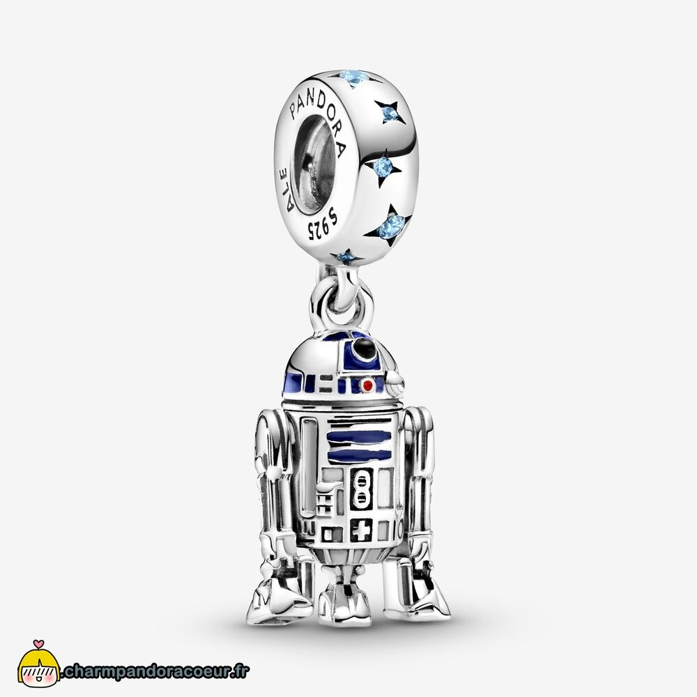 Nouvelle Collection Pandora Breloque Star Wars R2 D2