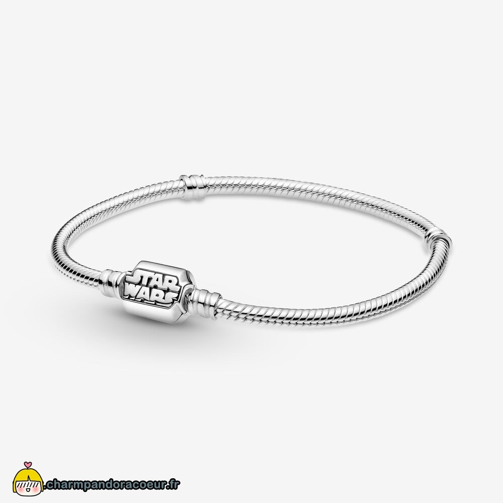 Nouvelle Collection Pandora Fermoir Chaîne Serpent Star Wars Pandora Moments Bracelets
